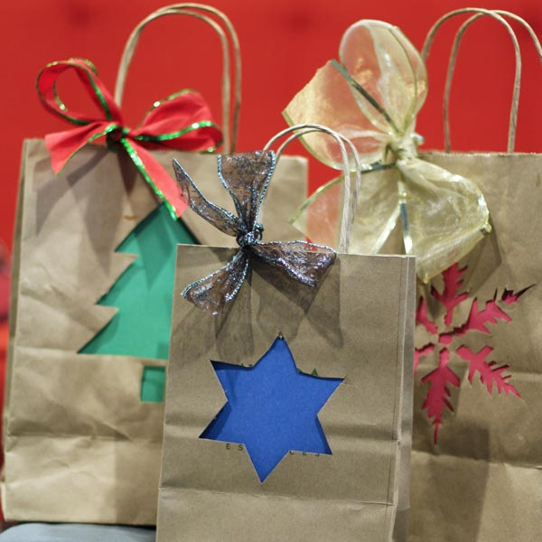 Because these look better than re-using gift bags you already have in the closet?