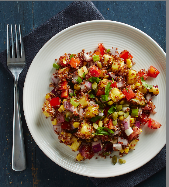 Confetti Quinoa Salad from THE NO MEAT ATHLETE COOKBOOK