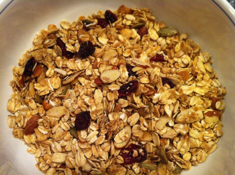 Cranberry-Pumpkinseed-Sesame Granola