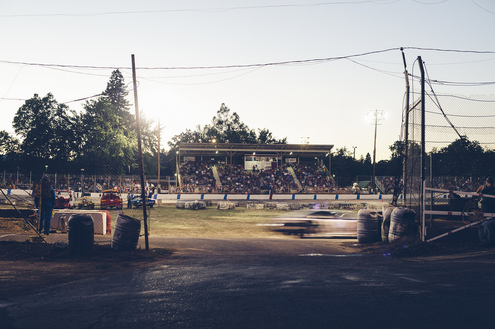 Lakeport Speedway, racing since 1948.