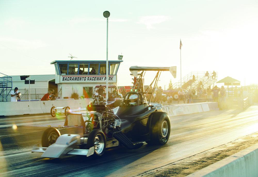 Sacramento Raceway, racing since 1964.