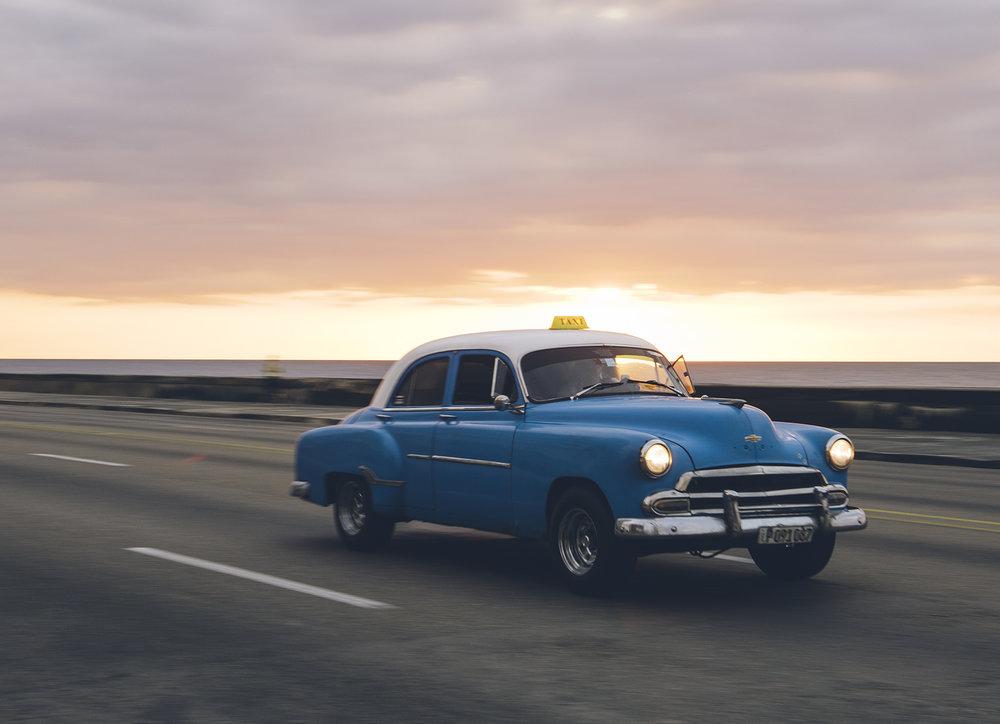 1952 Chevrolet taxi.