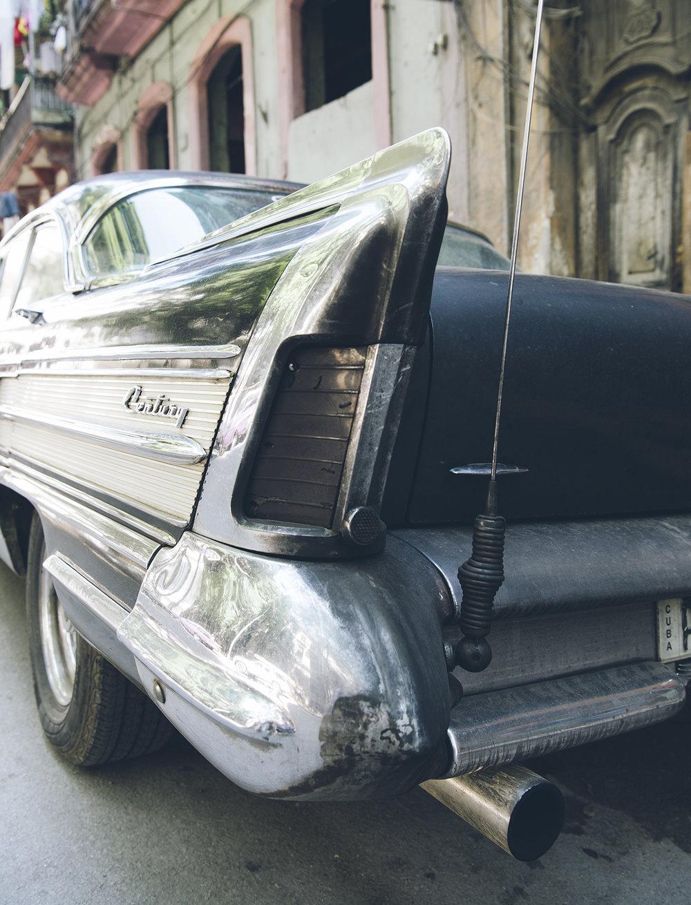 1958 Buick Century tail fin.