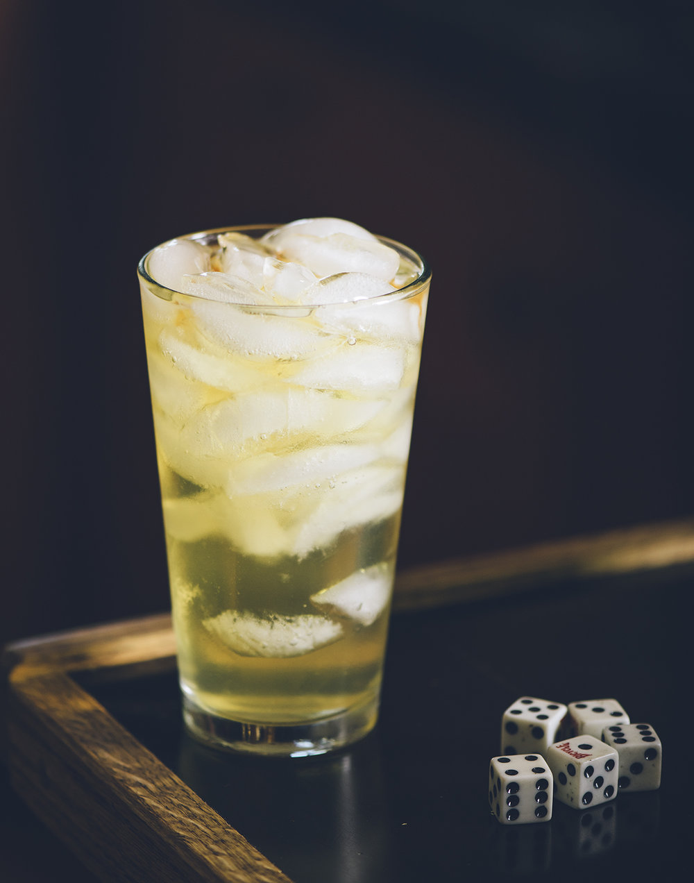 The Irish Highball - Fill one pint glass full of ice.Pour over ice 1 ½ oz. Jameson Irish WhiskeyFill with Canada Dry Ginger Ale (Jimmie O`Callaghan's favorite!)Quench thirstRepeat process several times, cheers!