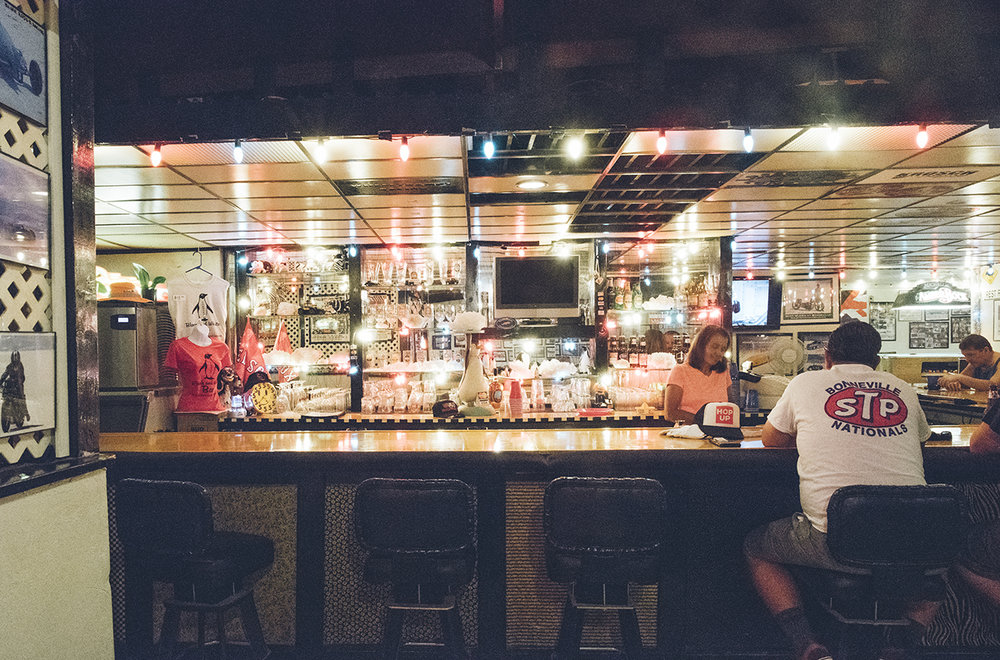 The main bar.