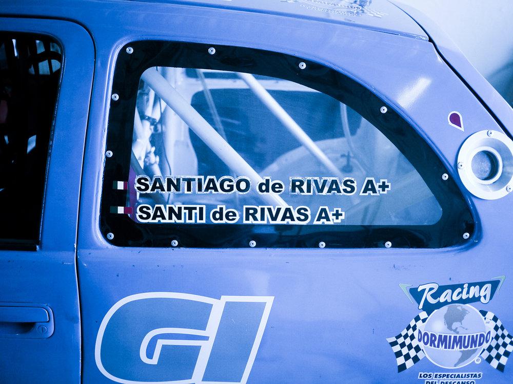 De Rivas got into racing to have an activity to do with his son Santi.