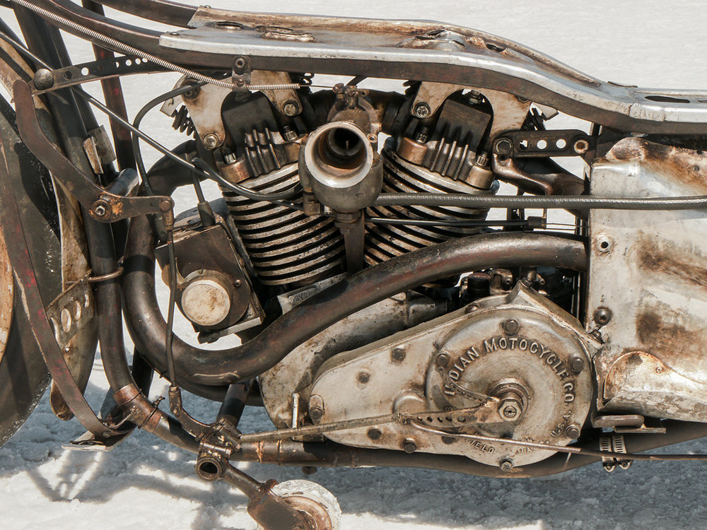 What used to pass for an Indian engine on massive amounts of steroids. The brilliant work of Mr. Munro returns to the salt.