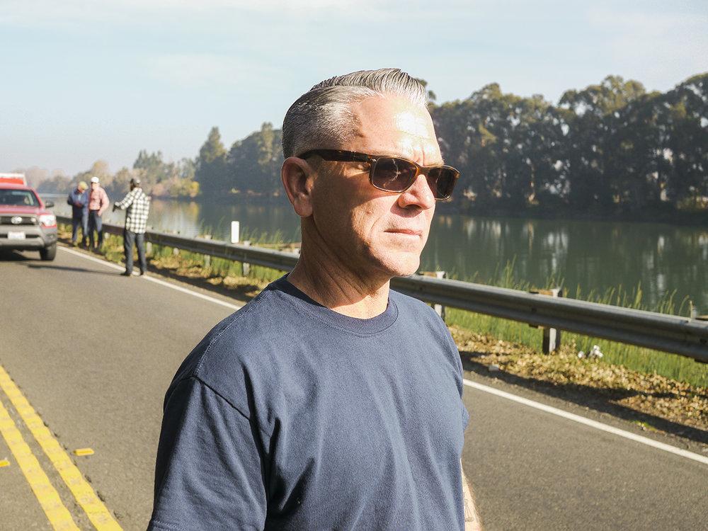 Boss of the run, Jim Luke of the Drag Lynx.
