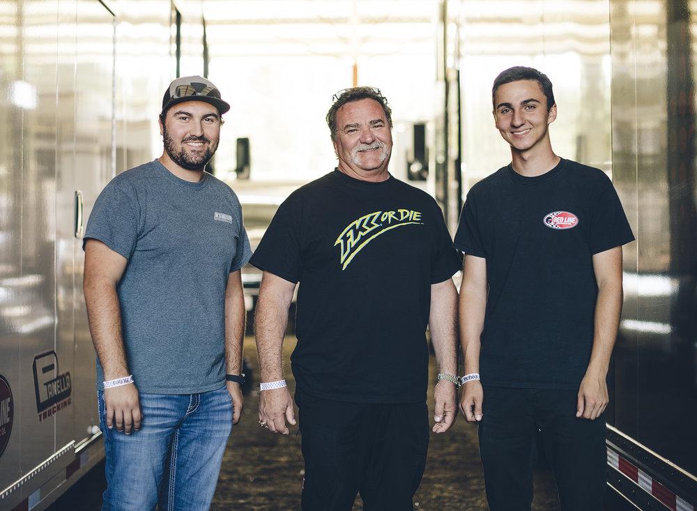 Dominic, Gary and Giovanni Scelzi.