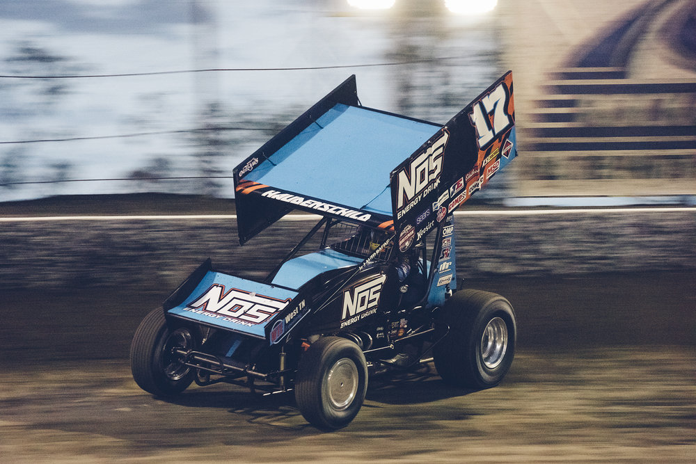 Bakersfield 2018: Sheldon on his way to victory.
