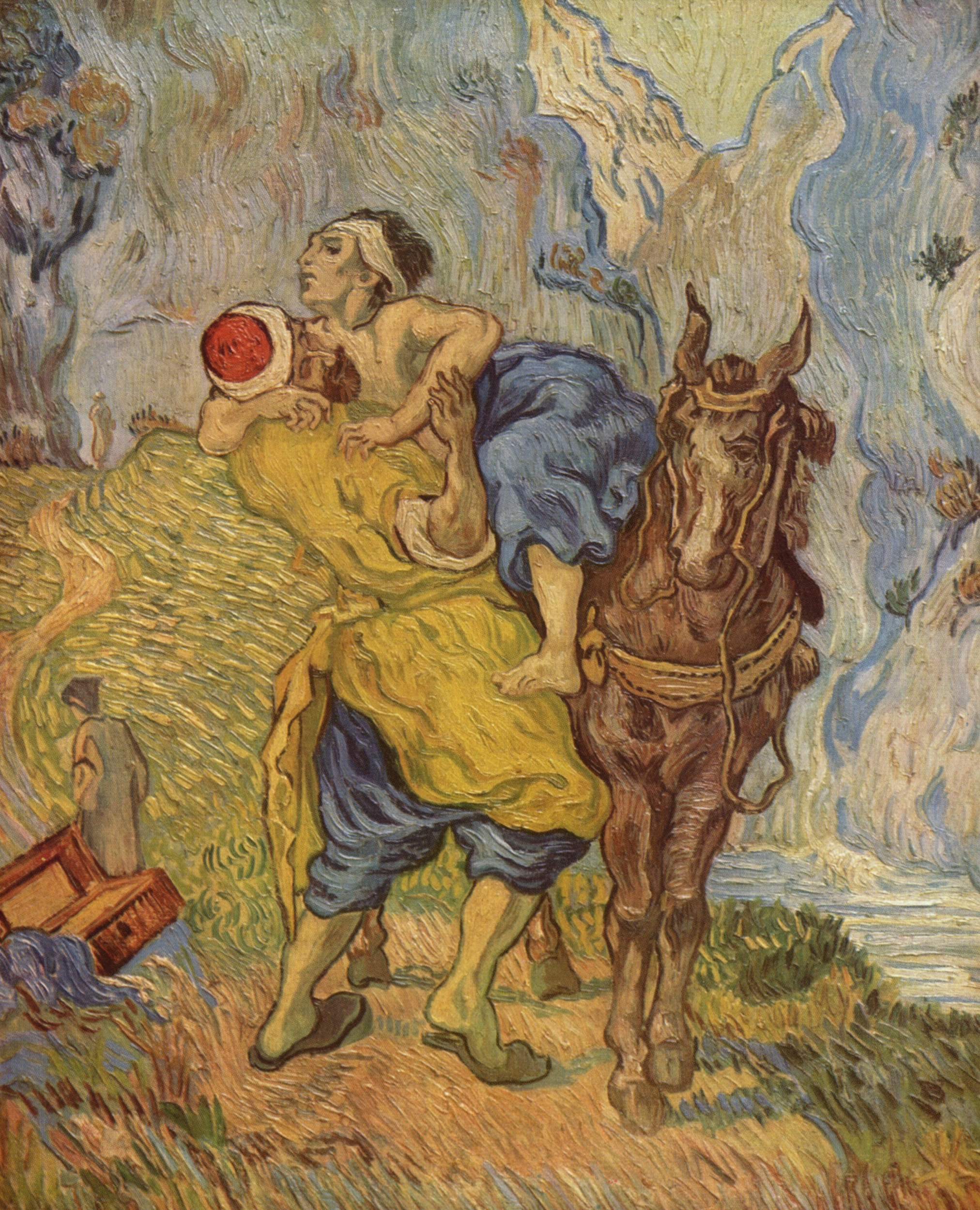 2 Good Samaritan_1890_Vincent van Gogh