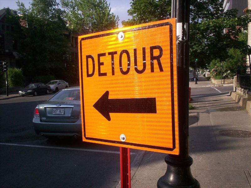 10 Detour
