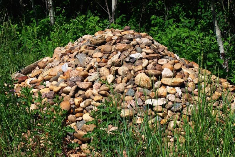 9 Rock pile