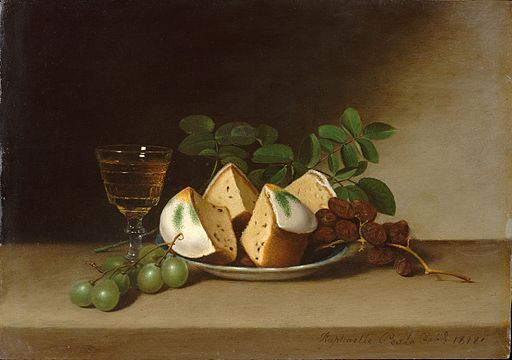 Still_Life_with_Cake - Raphaelle_Peale