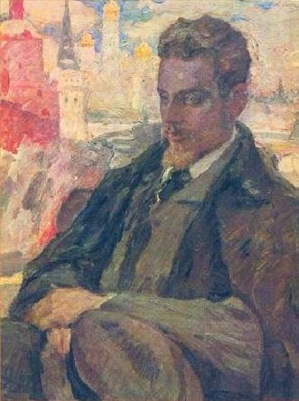Rilke in Moscow by Leonid Pasternak