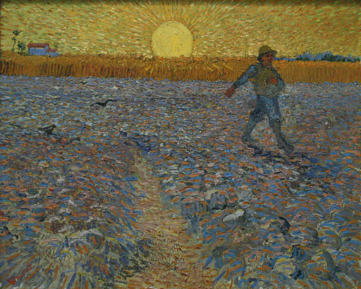 The Sower - Van Gogh