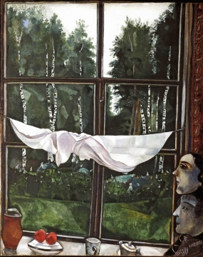 Mark Chagal, Window in the Dacha