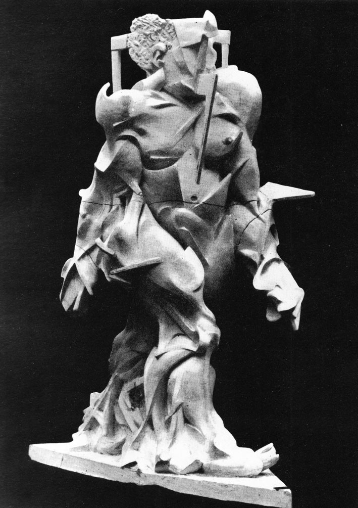 Umberto Boccioni, Synthesis of Human Dynamism, 1913, destroyed.