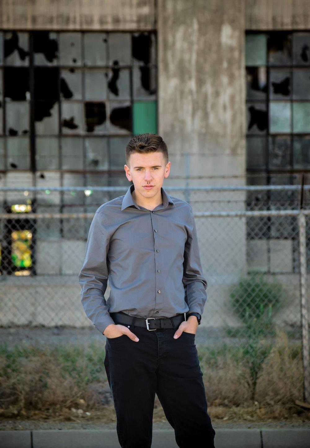 Jarred Gray   Los Lunas High School Graduate  Class of 2017   Albuquerque Rail Yards