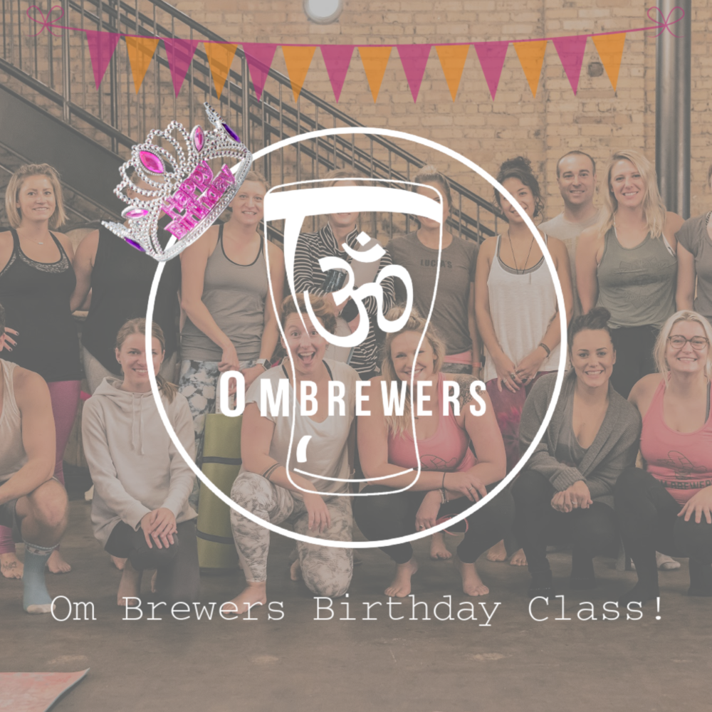 Yoga + Beer - Saturday, February 911:00AM - 12:00PM