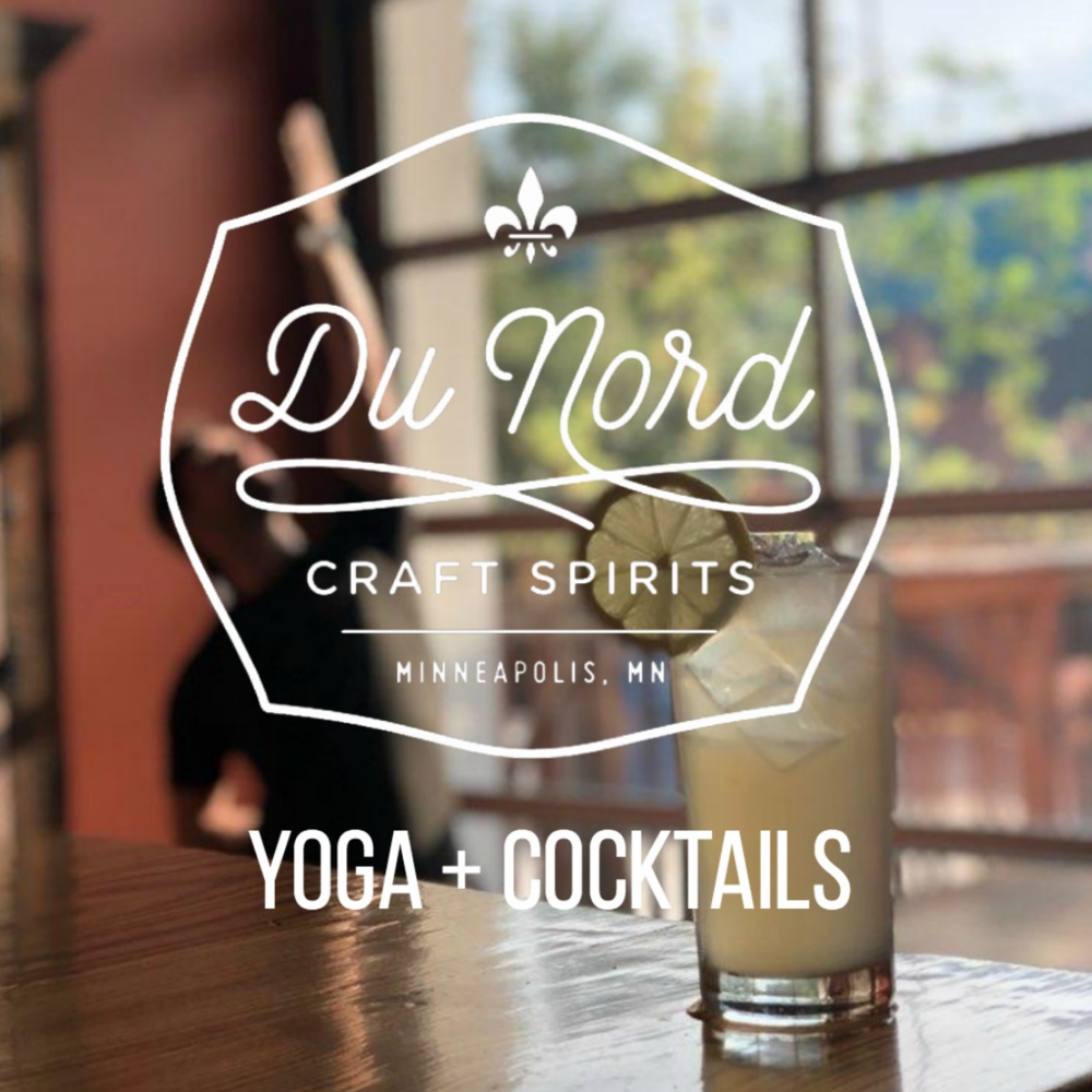 Yoga + Cocktails - Saturday, February 211:00AM - 12:00PM