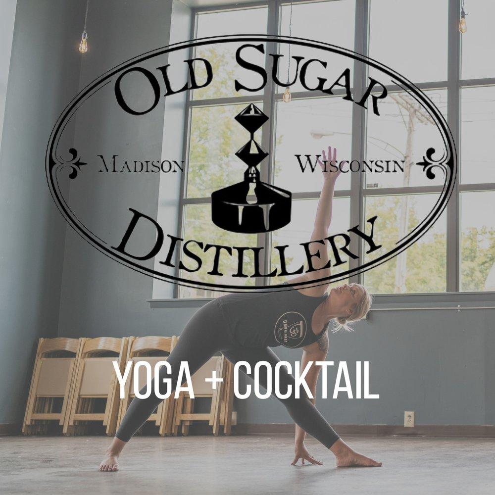 Yoga + Cocktails - Thursday, January 176:30PM -7:30PM
