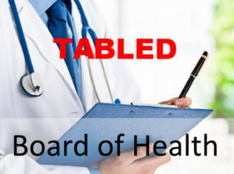 DOC 214/18 AMENDMENT TO BOARD OF HEALTH -