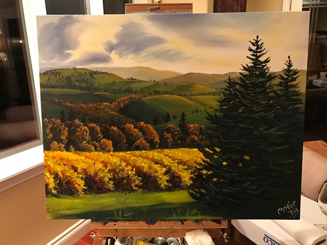 Sold in a blind bid for 3000.00 on March 5, 2017 - Scholarship fundraiser