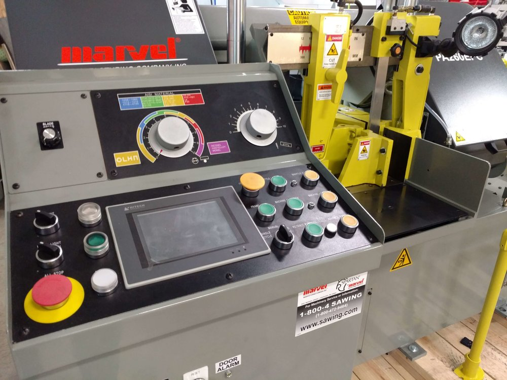 Production sawing automates a tedious task with precision.