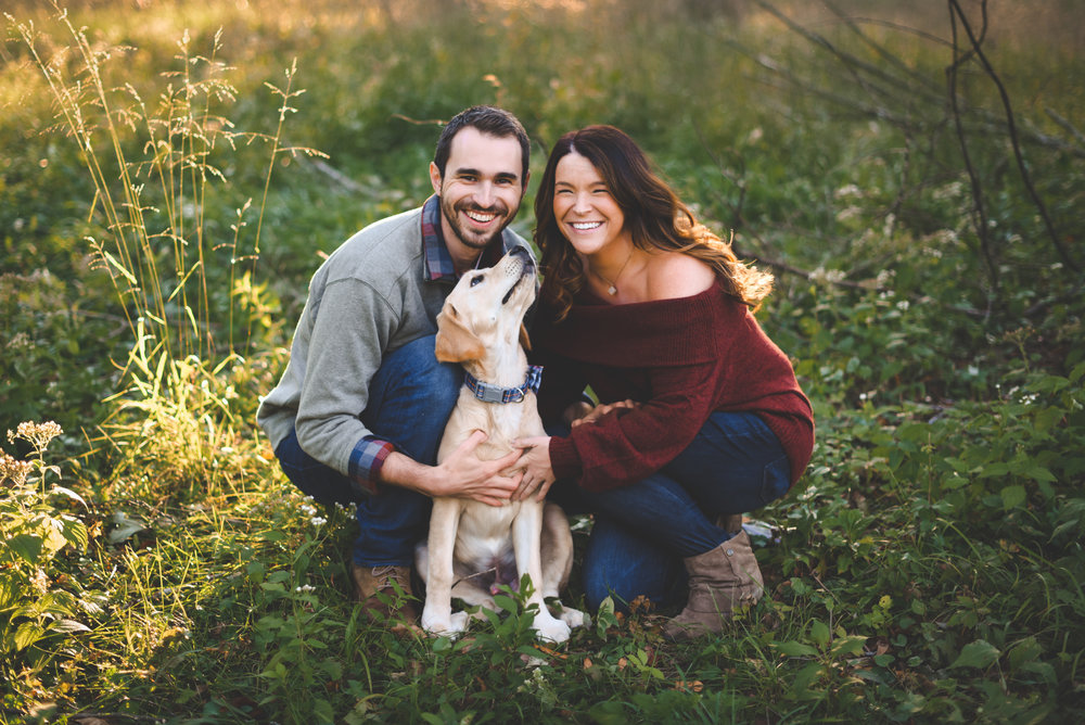 Indianapolis engagement photography - surprise proposal - Erin and Adam