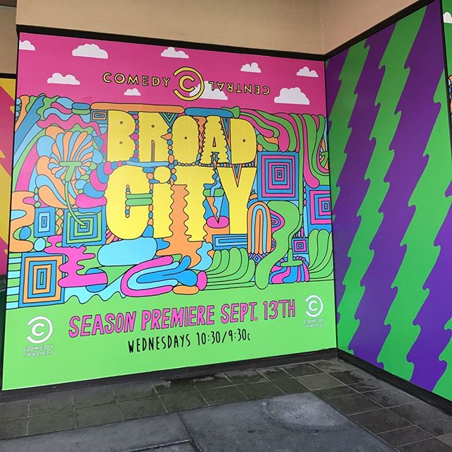 This is happening! @broadcity @comedycentral #comedycentralcon #broadcity