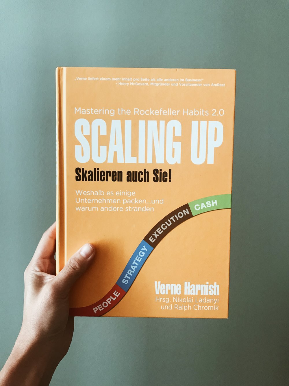 Scaling up - by Verne Harnish, Link to Product