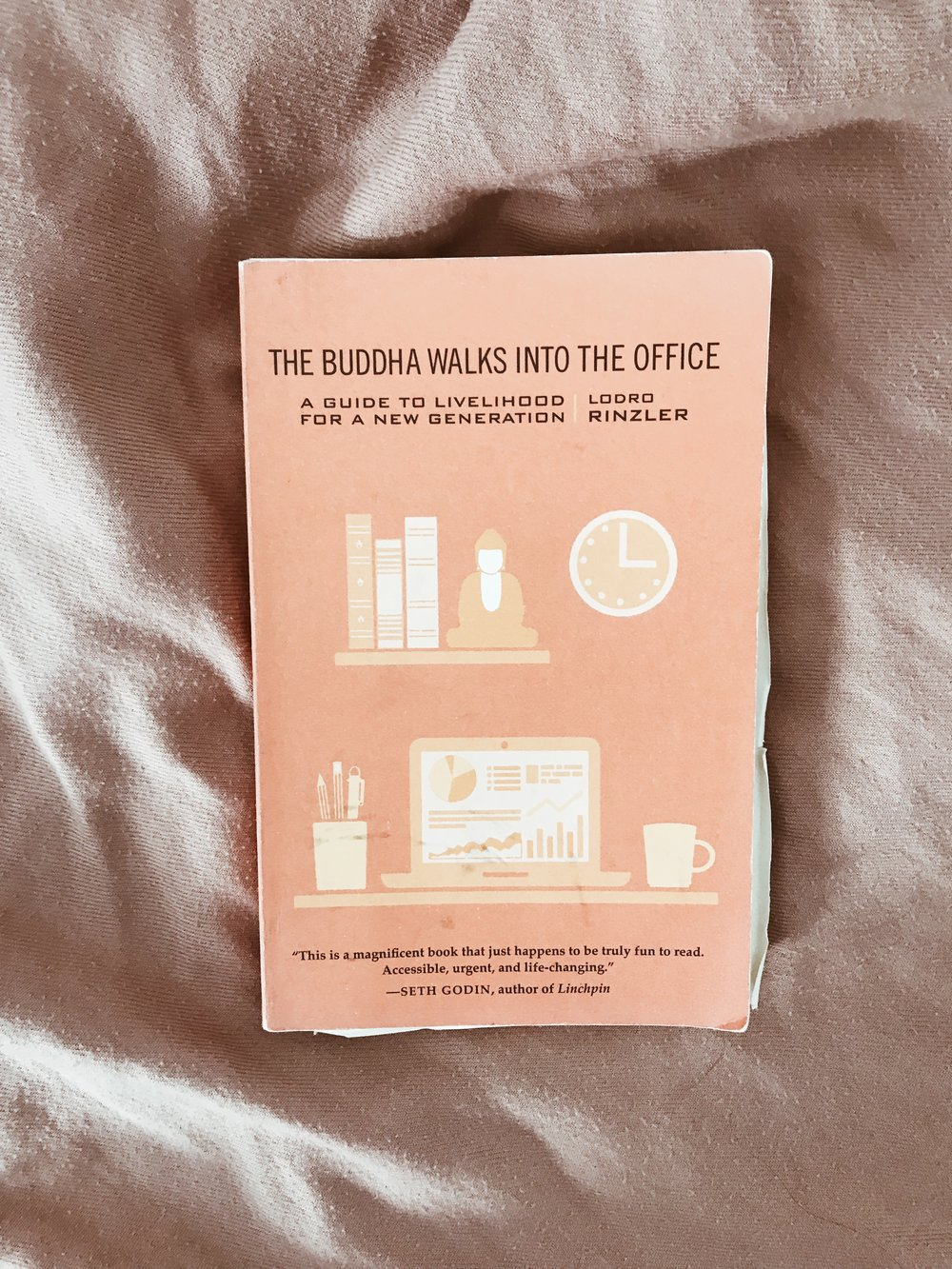 The Buddha Walks into the Office - by Lodro Rinzler, Link to Product