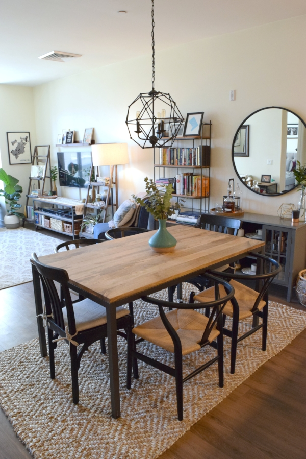 Using The Design Plans From Havenly, I Stuck With The Big Ticket Items (for  The Most Part). The Rustic/industrial Dining Table From West Elm Is Perfect  For ...