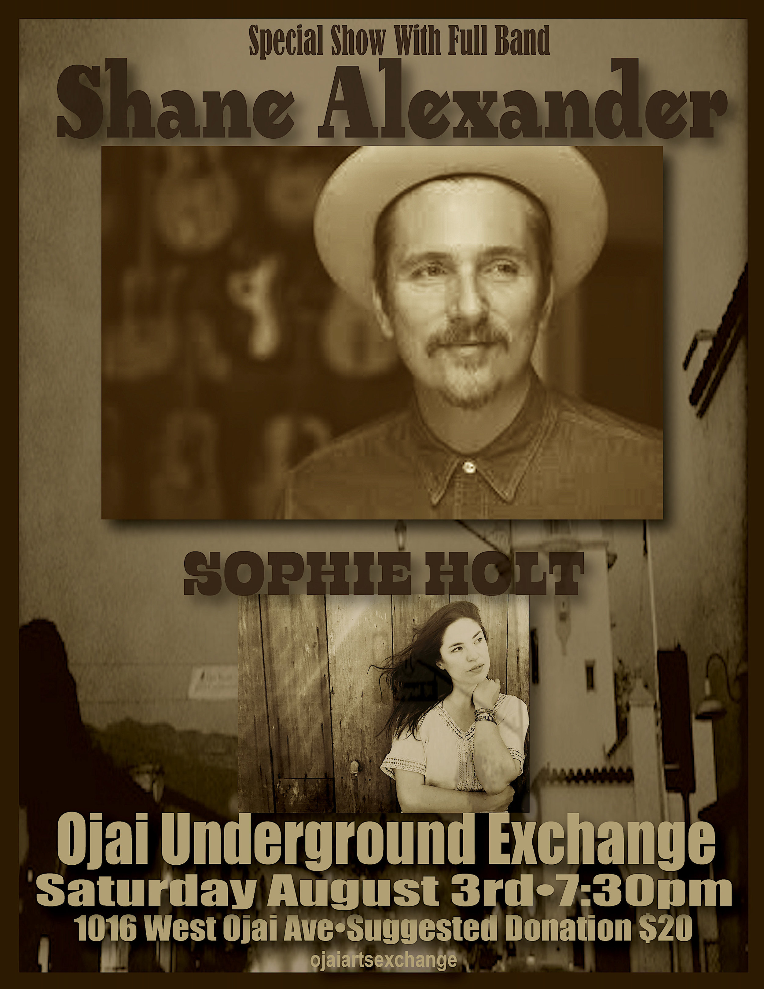 Events — Ojai Arts Exchange•Ojai Underground Exchange