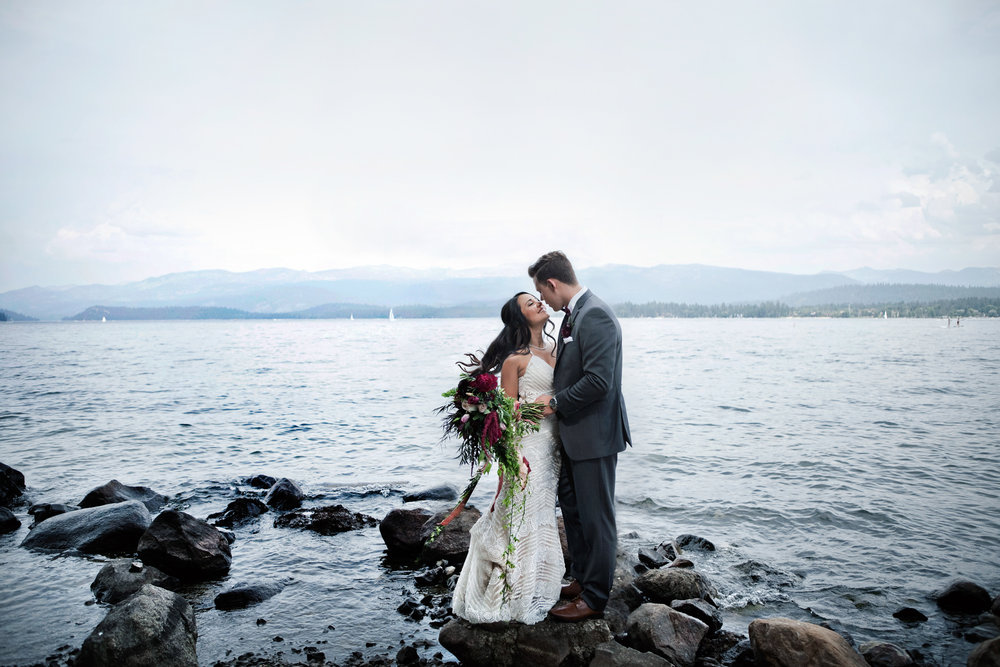 McCall Idaho Wedding | Jade + Dillon