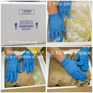 How to pack a box collage