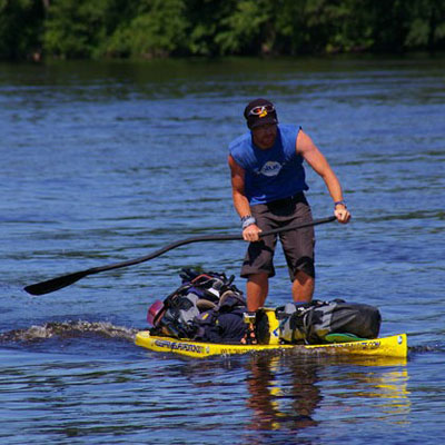 How An Adventurer CONQUERED the MISSISSIPPI by SUP — OUTSIDE British adventurer Dave Cornthwaite spent almost three months stand-up PADDLE BOARDING the length of the Mississippi River. We break his trip down by the numbers.