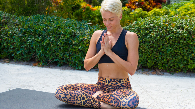 10 perfect poses for yogis on the go — yoga journal