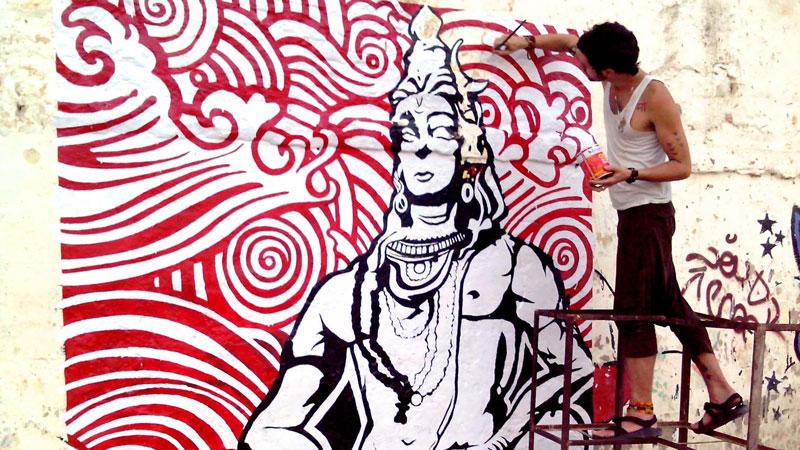 Pan Trinity Das: How One Graffiti Artist & Yogi is Revolutionizing Street Art