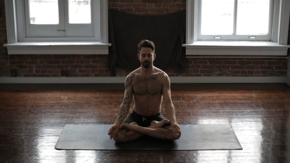 watch it: how benjamin sears found yoga + What keeps him pracTICING—YOGA JOURNAL