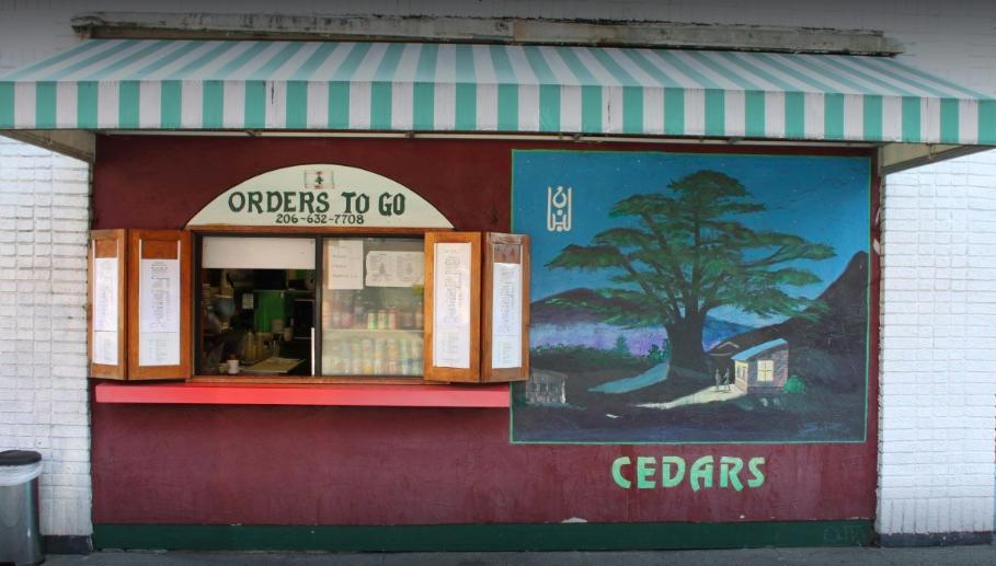 Cedars of Lebanon's Orders-to-Go window.