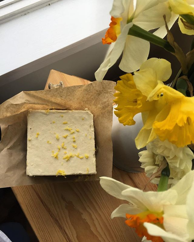 🌼🍋🌼🍋🌼🍋🌼🍋🌼 Key Lemon Cold Cake made with our Lemon Chia Tea Cookie + Cashew Cold Cake.  #virginiaisforlovers #virginiaisfordessertlovers #virginiabakery #healthyfood #healthydesserts #norefinedsugar #norefinedflours #plantbased #plantbasedfood #plantbaseddiet #vegan #vegandesserts @localscoop #northernneckva @oldfarmtruckmarket