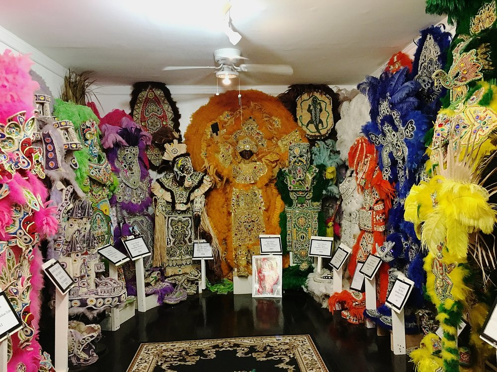 Mardi Gras Indian Suits at Backstreet Museum—New Orleans, LA