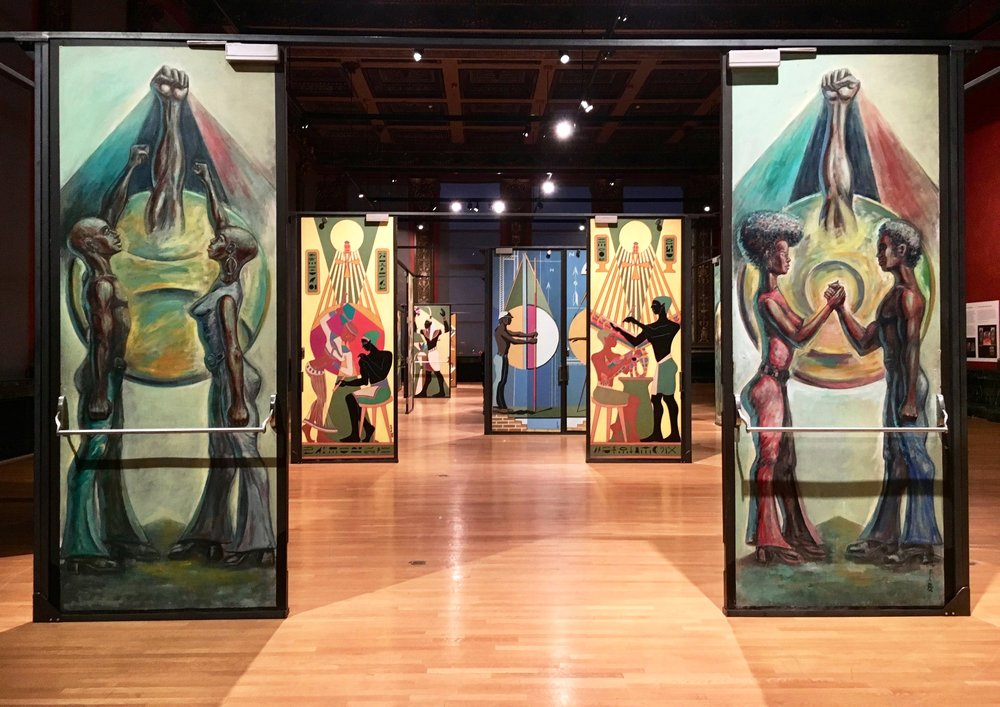 'Eugene Eda's Doors of Malcolm X College' Exhibit at Chicago Cultural Center—Chicago, IL