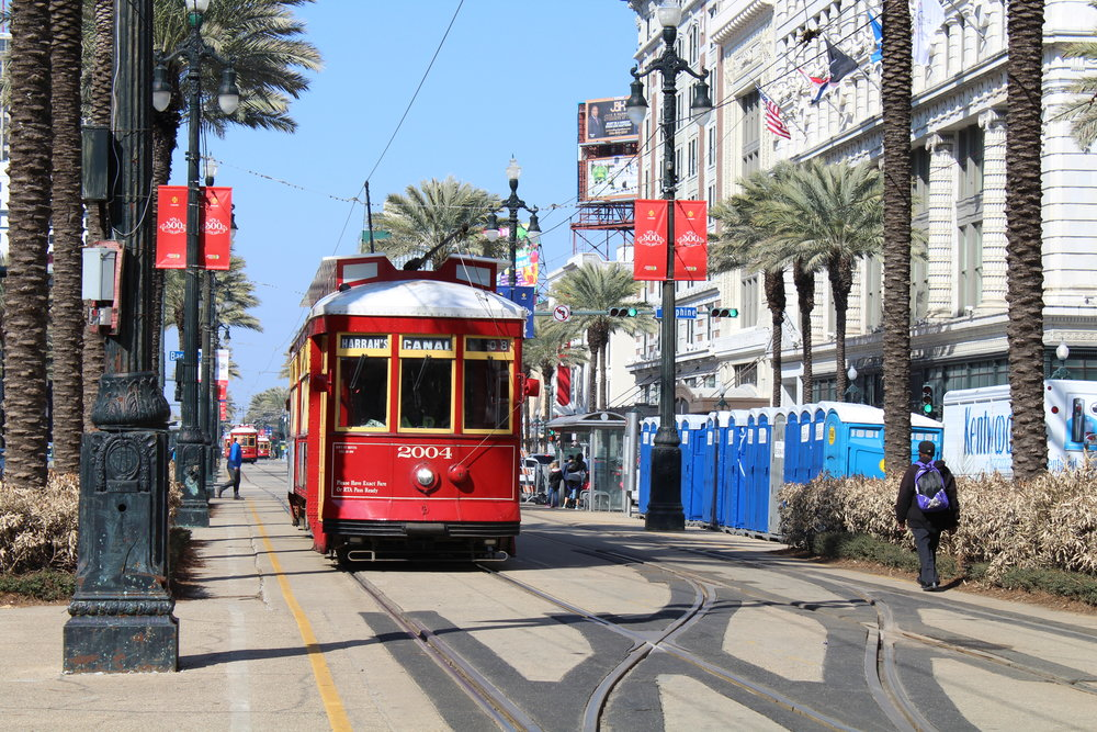 Canal Street Car in New Orleans