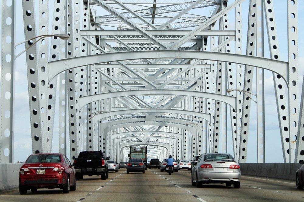 Bridge in New Orleans