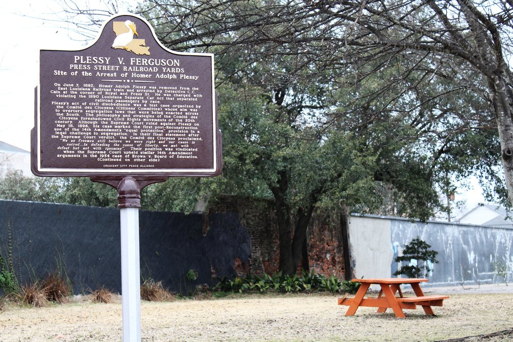 Site of Homer Plessy Arrest in New Orleans