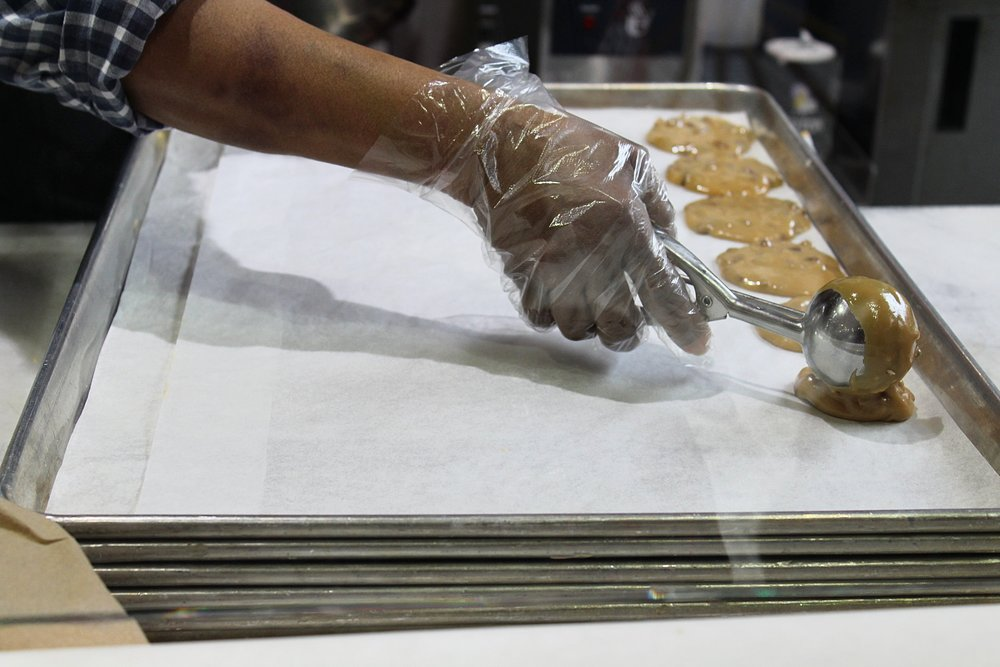 Making Pralines in New Orleans