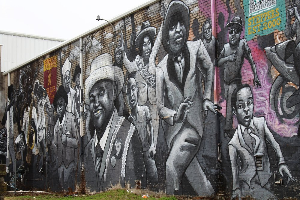 Mural in New Orleans